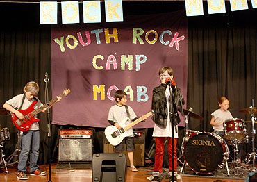 Youth Rock Camp Moab