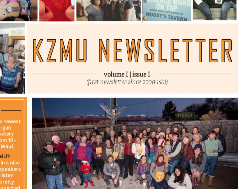 KZMU Newsletter