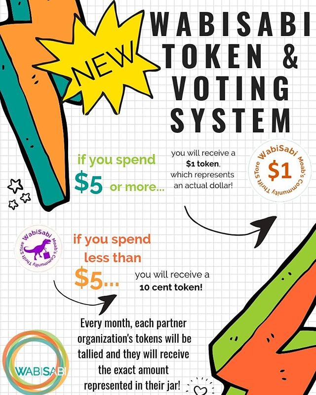 New Voting System at WabiSabi: One Purchase=One Dollar for a Local Nonprofit!