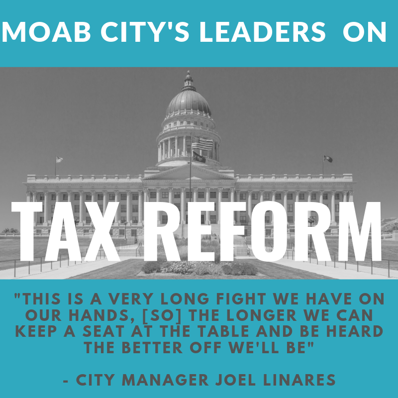 Moab City's Leaders on Tax Reform