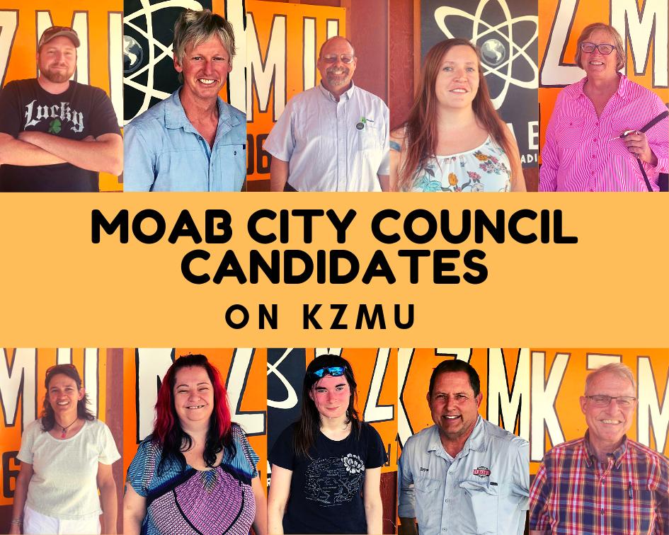 Moab City Council Candidates –on KZMU