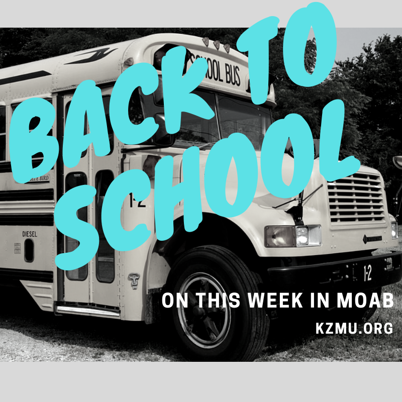 'Back to School' on This Week in Moab