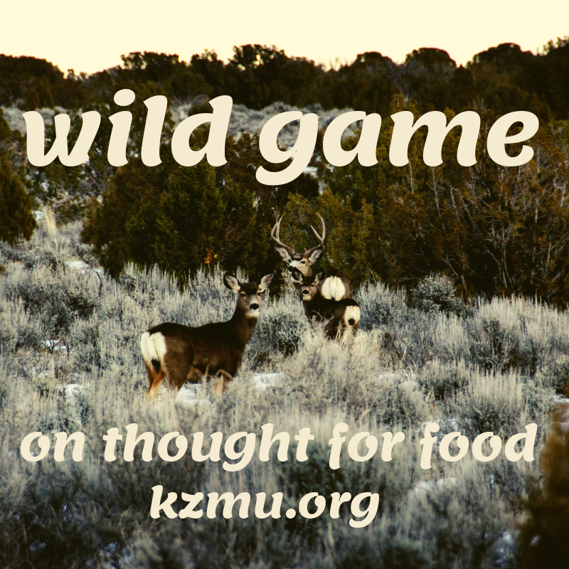 Wild Game, 12 Gauge Girl on Thought For Food