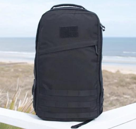 "Black ""GoRuck"" Backpack"