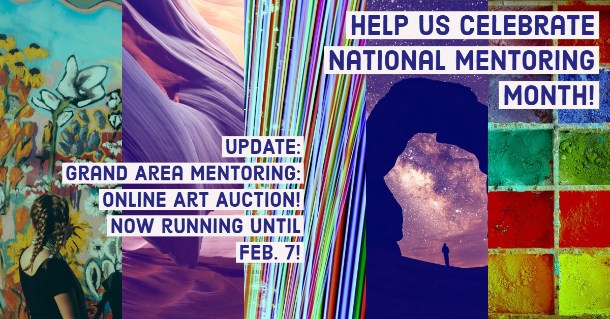 Grand Area Mentoring Online Art Auction! Extended! One more week!