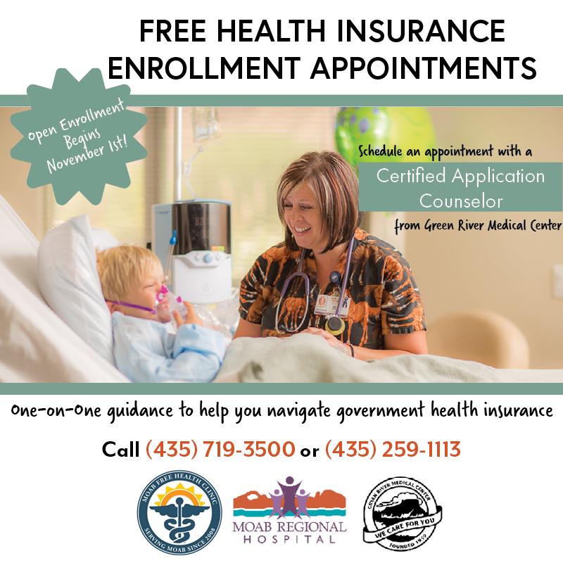 Health Insurance Open Enrollment Assistance
