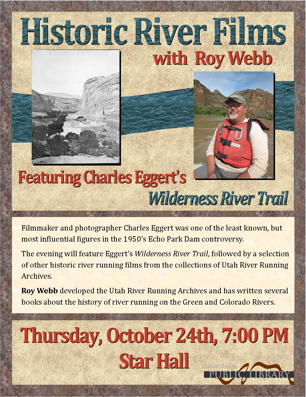 Historic River Films with Roy Webb