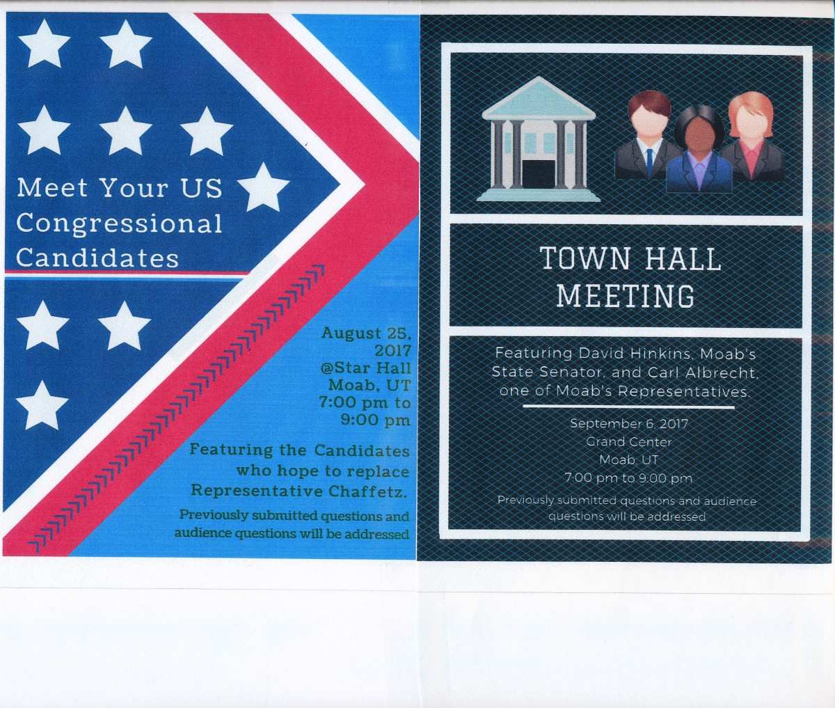 Candidate Assembly & Town Hall Meetings