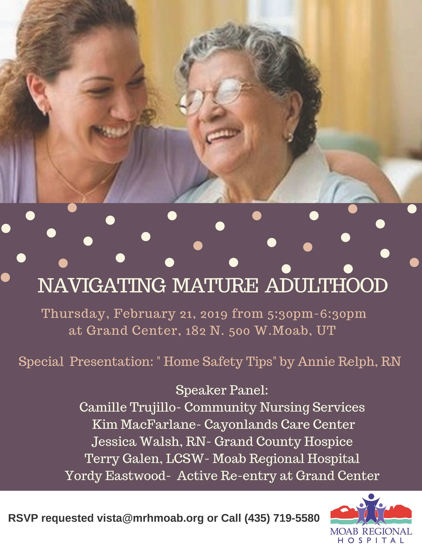 Navigating Mature Adulthood