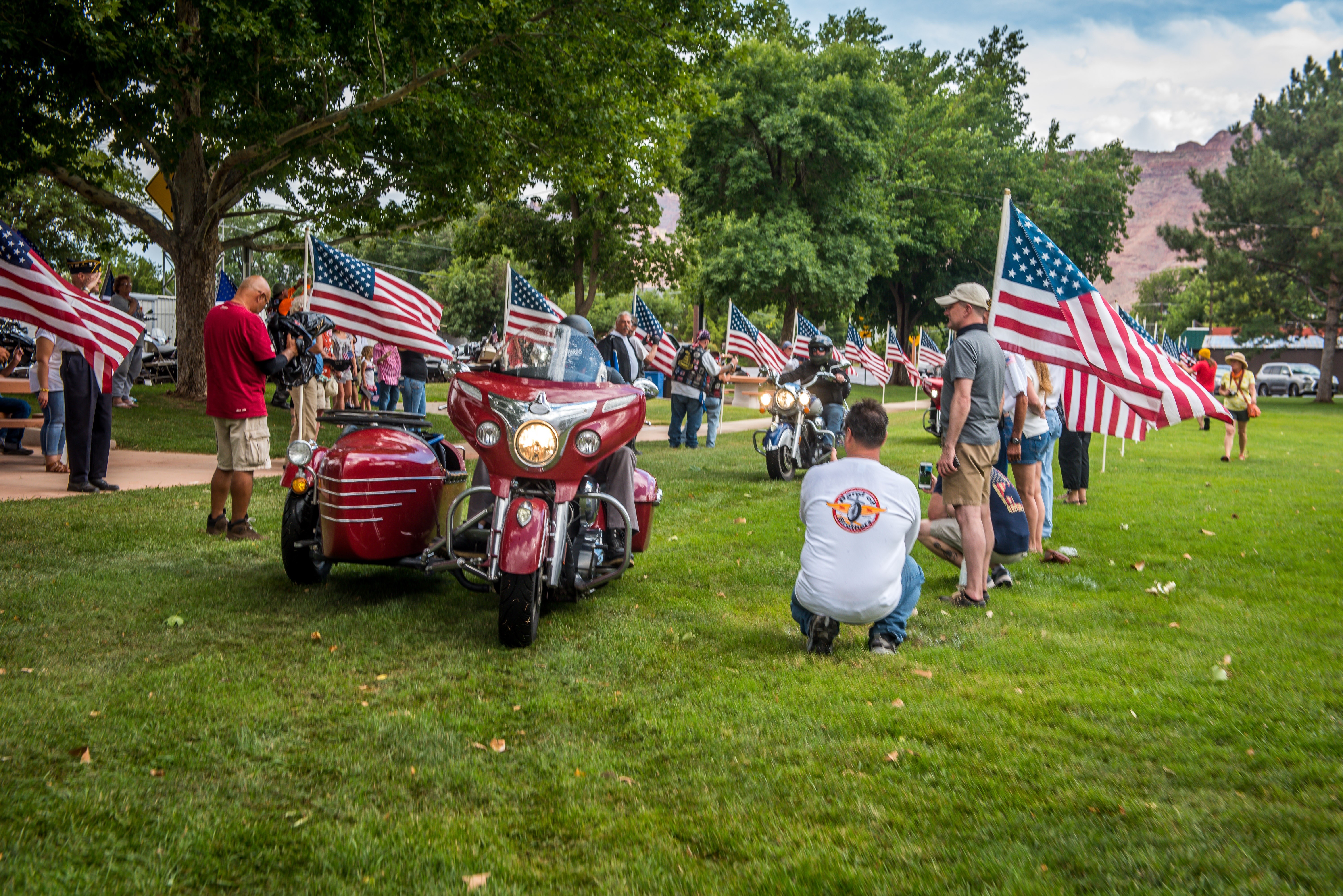 Veterans Charity Ride Moab Hero's Welcome
