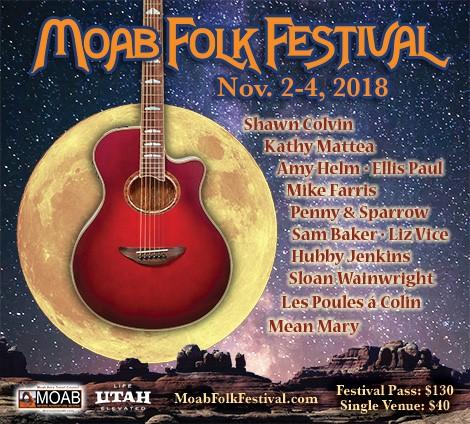 16th Annual Moab Folk Festival