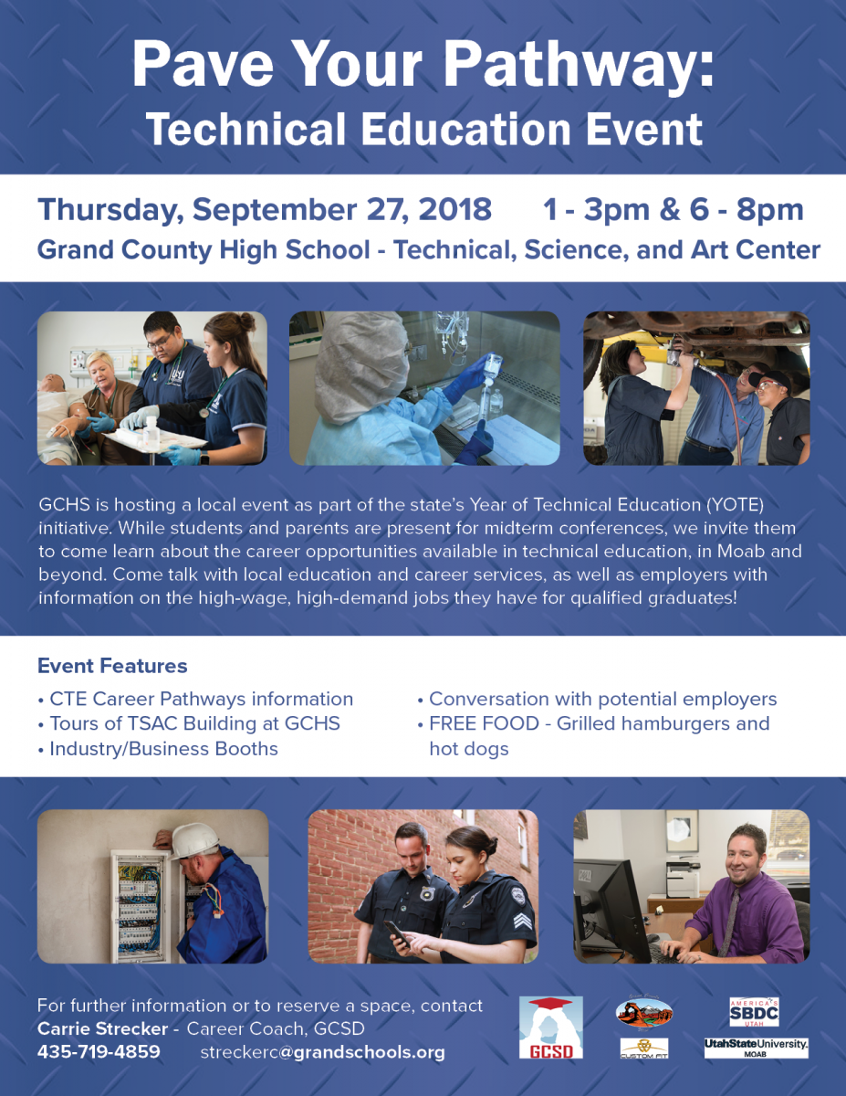 Pave Your Pathway: Technical Education Event