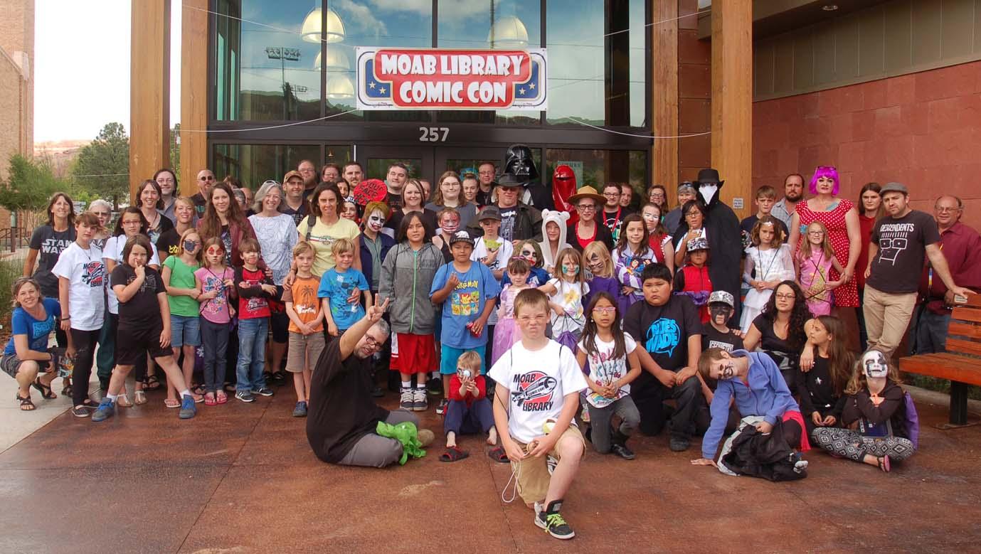 Moab Library Comic Con