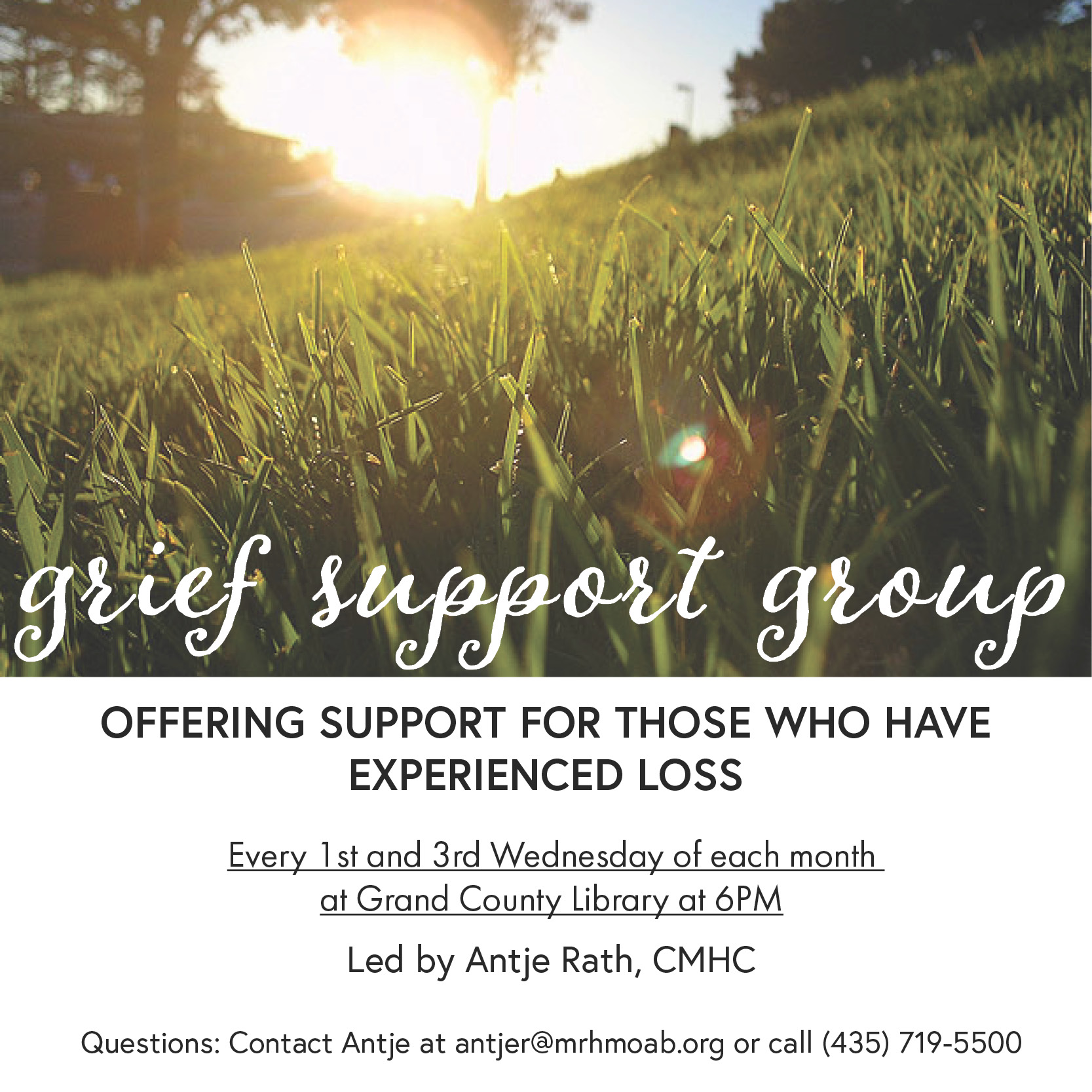 MRH is offering a grief support group