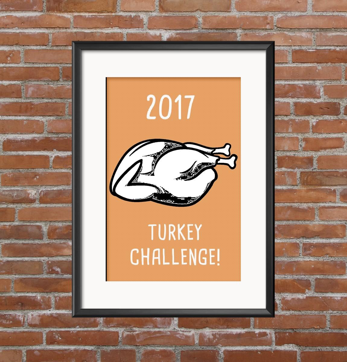 WabiSabi's 2017 Turkey Challenge is here!