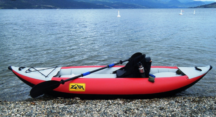 Zoik Inflatable Kayak, Paddle, Pump, etc. FOR SALE $400